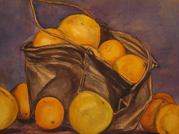 Bucket Of Goodness Print by Roberta Voss