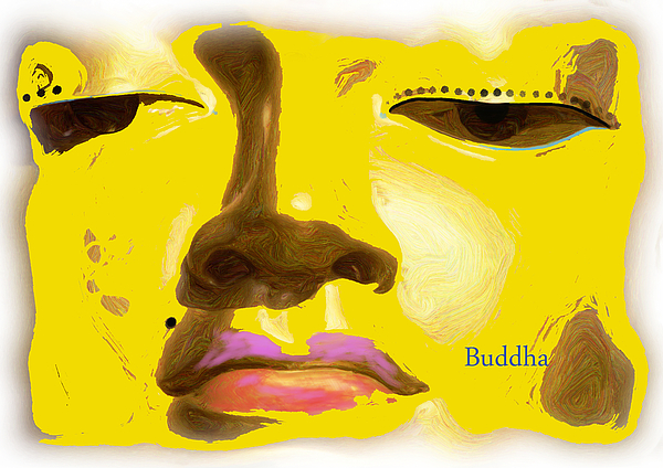 Buddha 6 Print by Paul Adamson