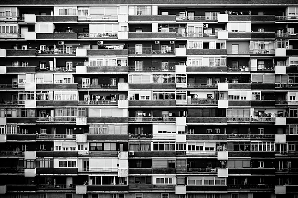 Building Print by Pollobarba Fotógrafo