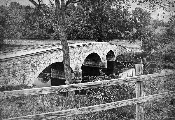 Burnside Bridge 2 Print by Mick Burkey