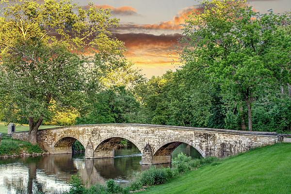 Sharon Horn - Burnside Bridge at Sunset