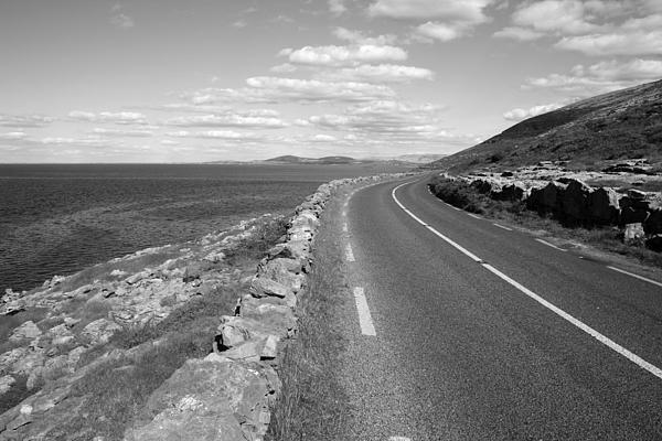 Burren Road Print by John Quinn