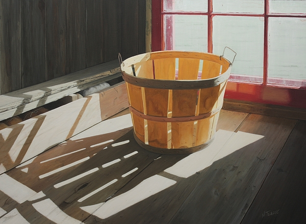 Bushel Of Loft Light Print by Nancy Teague