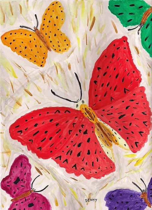 Denise Davis - Butterflies