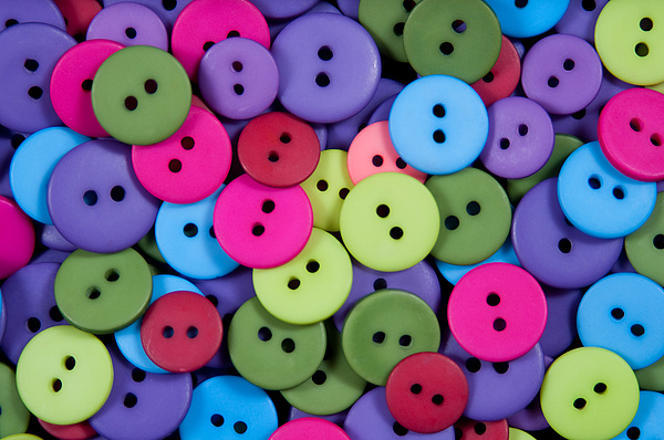Buttons Print by Dan Holm