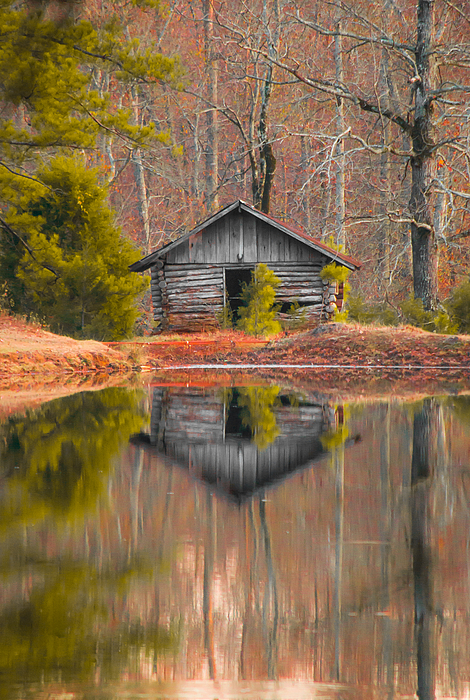 Shelby  Young - Cabin by the Lake Vertical
