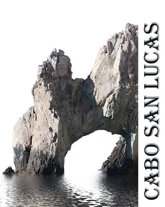 Cabo San Lucas Archway Shower Curtain For Sale By Shane