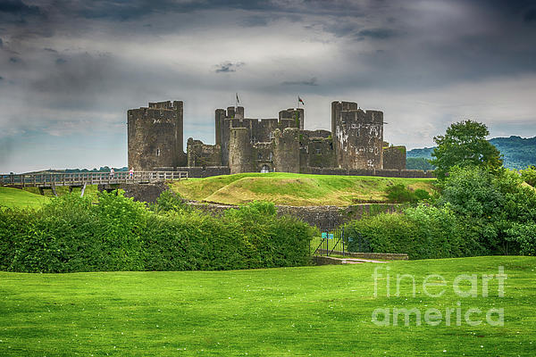 Steve Purnell - Caerphilly Castle East View 2