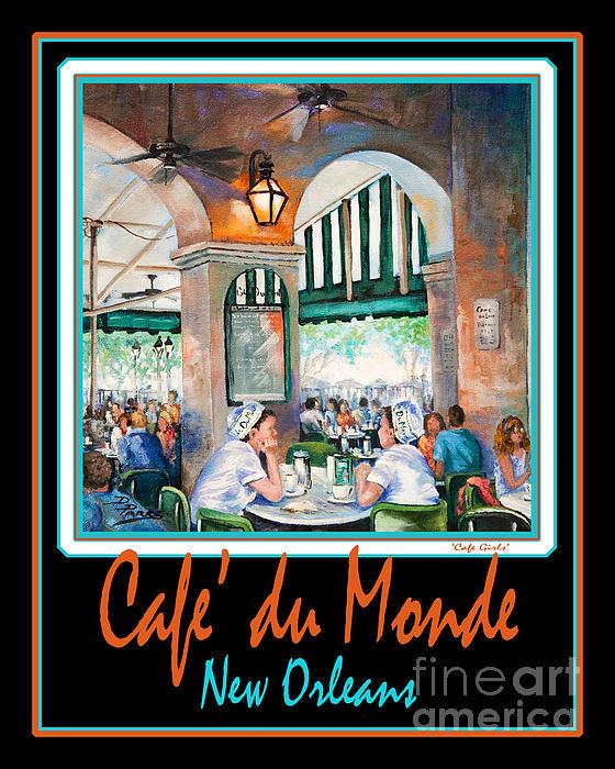 Cafe Du Monde Print by Dianne Parks