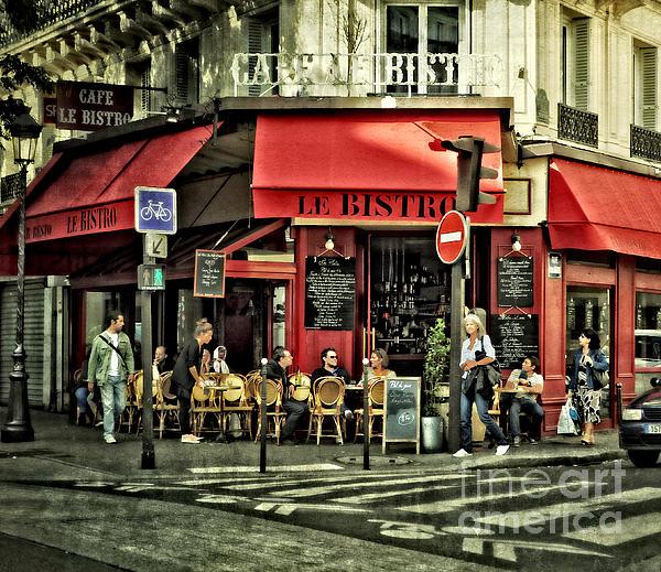 Mary Machare - Cafe Le Bistro - Paris