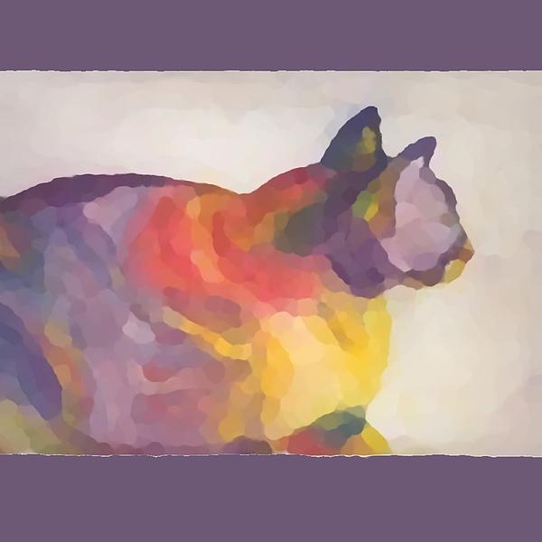 Calico Print by Vicki Lynn Sodora