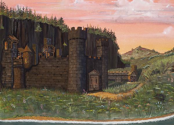 Camlochlin Castle Print by James Lyman