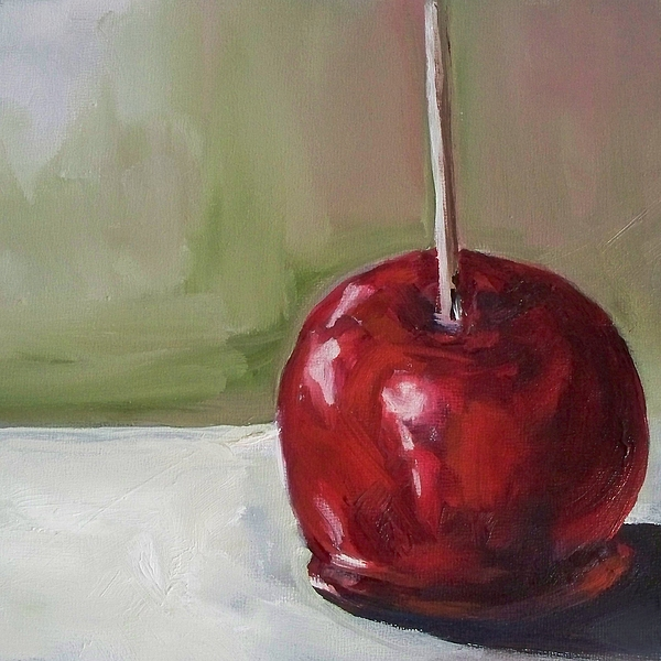 Candy Apple Print by Kristine Kainer