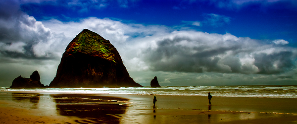 Cannon Beach At Dusk IIi Print by David Patterson