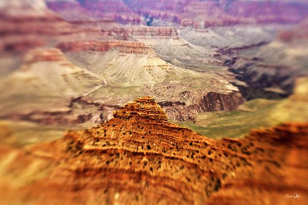 Canyon Peak Print by Scott Pellegrin