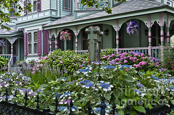 Cape May House And Garden. Print by John Greim