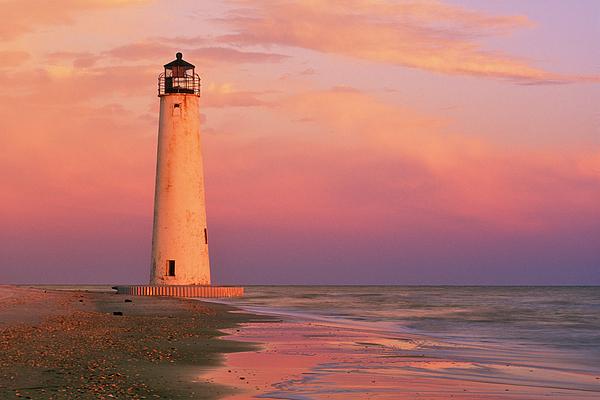 Cape Saint George Lighthouse - Fs000117 Print by Daniel Dempster