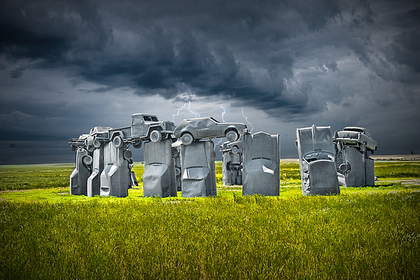 car henge in alliance nebraska after england 39 s stonehenge