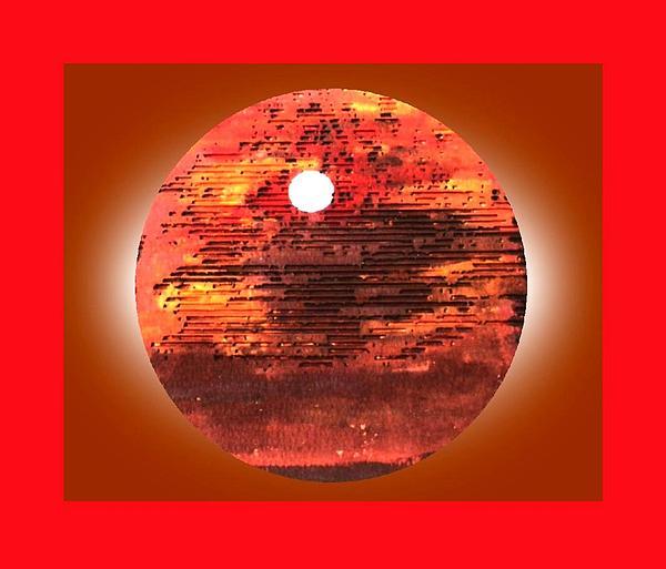 Cardboard Sunset Print by Gabe Art Inc