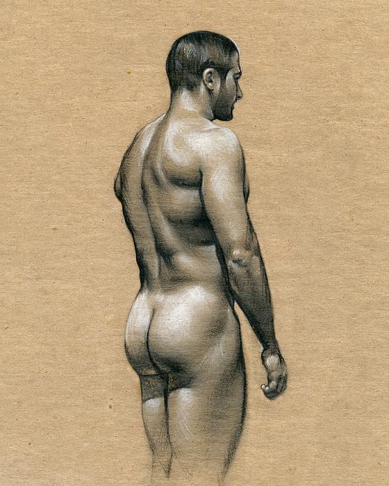 Carlos Print by Chris  Lopez
