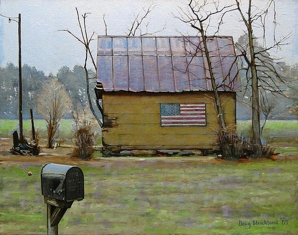 Carolina Patriot Print by Doug Strickland
