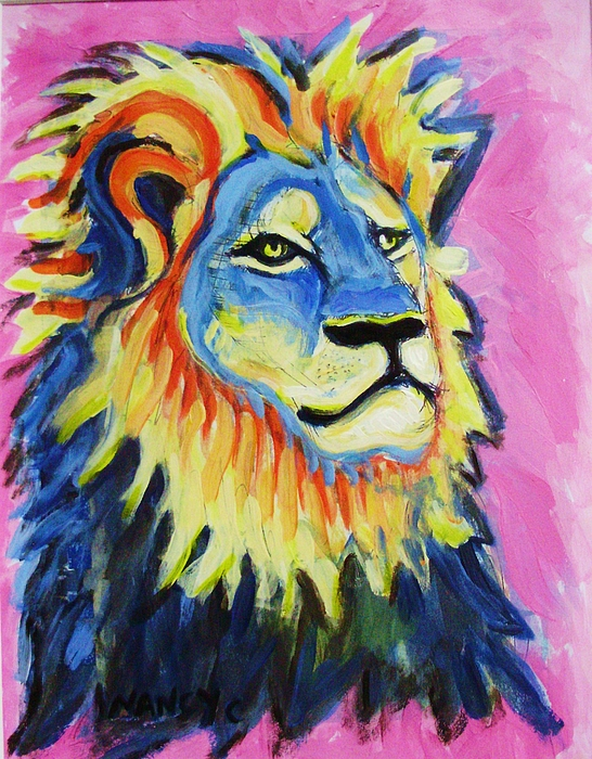 Nancy  Connolly - Cecil the Lion