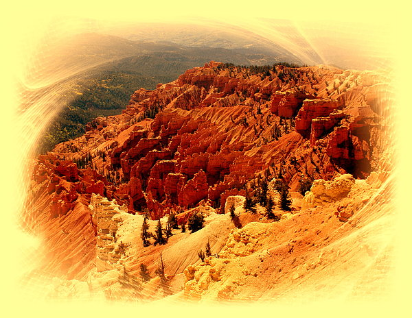 Cedar Breaks 2 Print by Marty Koch