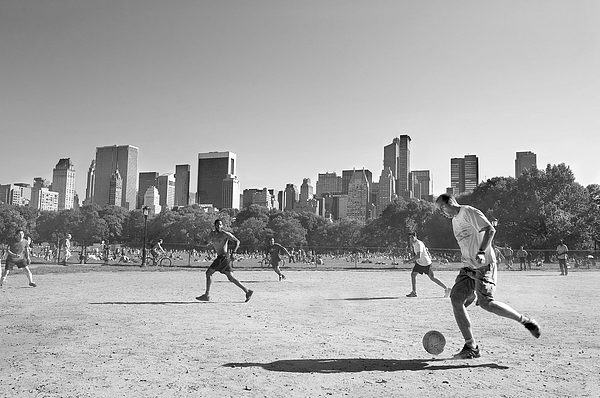 Central Park Print by Robert Lacy