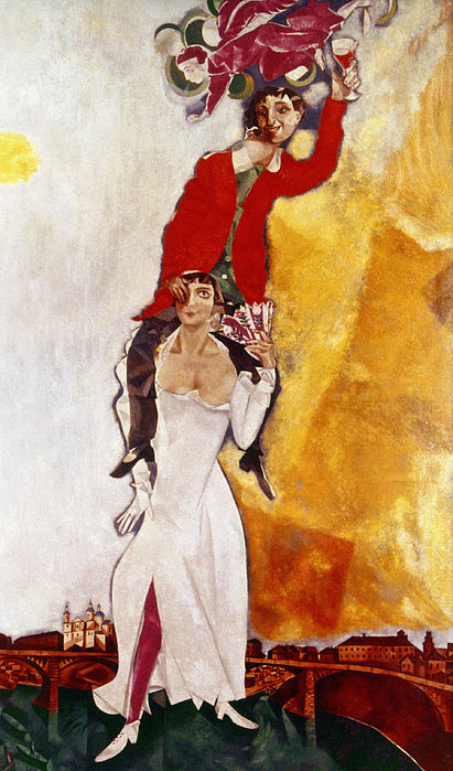 Chagall Portrait Print by Granger