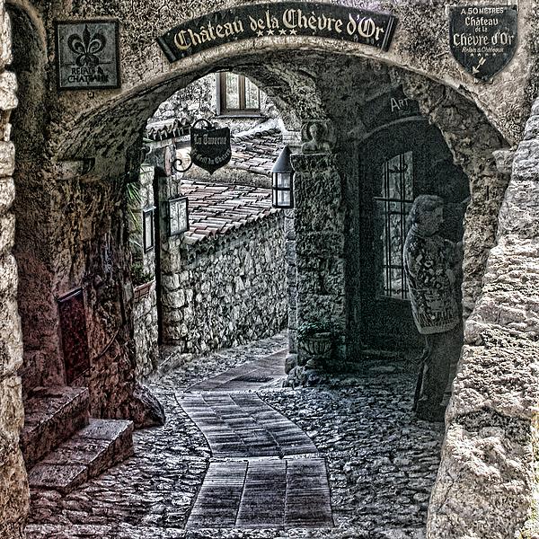 Chateau De La Chevre D'or Print by Tom Prendergast