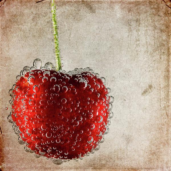 Cherry Fizz Print by Al  Mueller