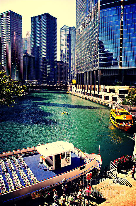 Frank J Casella - City of Chicago - River Tour