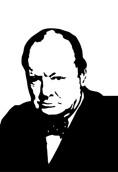 Churchill Print by War Is Hell Store