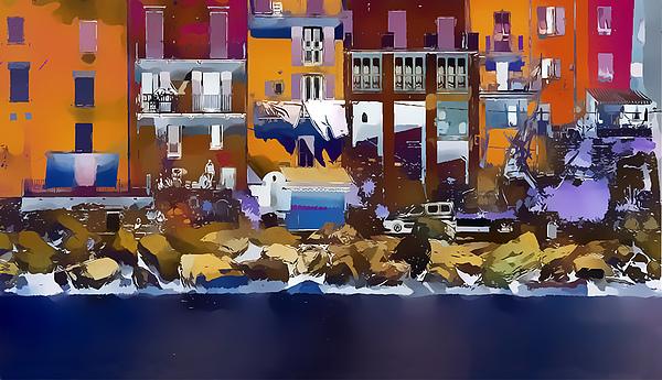 Cinque Terre  I Print by Gareth Davies