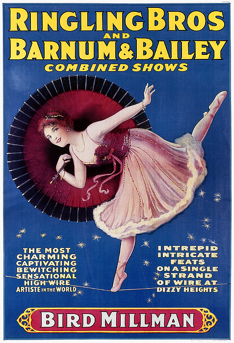 Circus Poster, C1920 Print by Granger