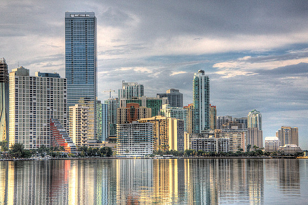 City Of Miami Print by William Wetmore