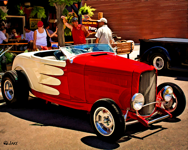Classic Ford Roadster Hot Rod By Jake Steele