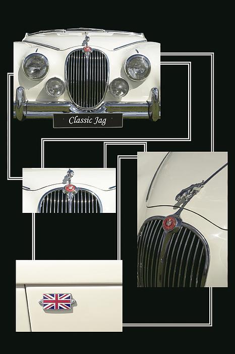 Classic Jag Print by Malc McHugh
