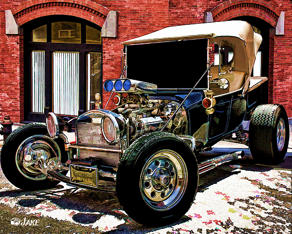 Classic Model T Ford Street Rod By Jake Steele