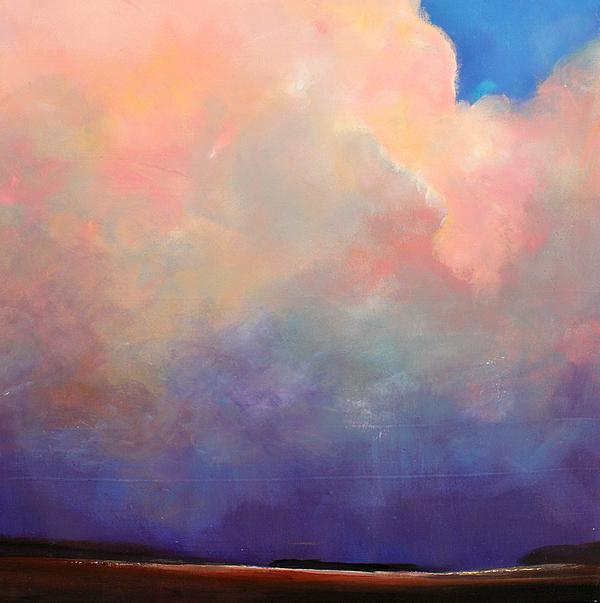 Cloud Light Print by Toni Grote