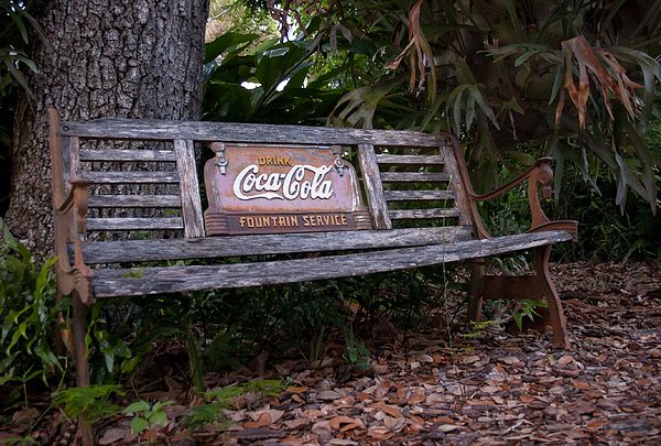 Coca Cola Bench By Edie Mendenhall