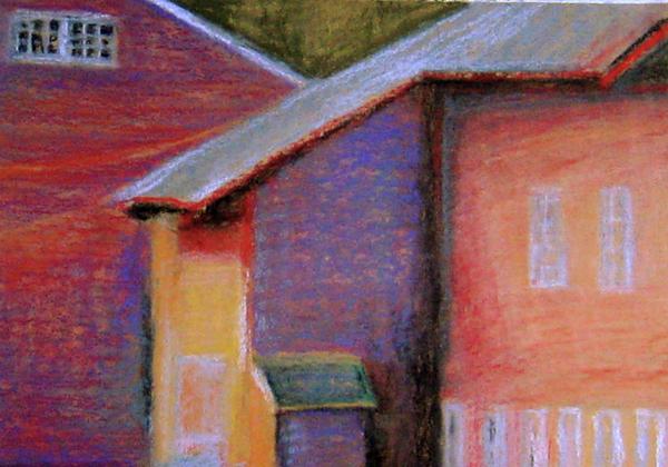 Colors And Shadows Print by Dona Mara