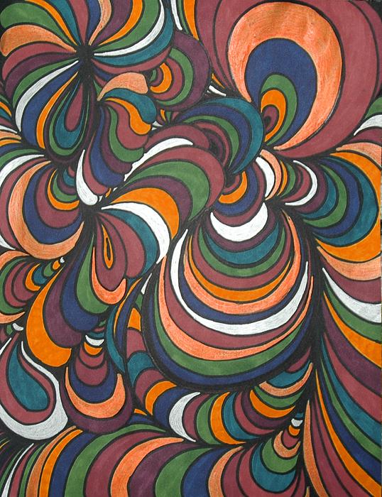 Colorway 4 Print by Ramneek Narang