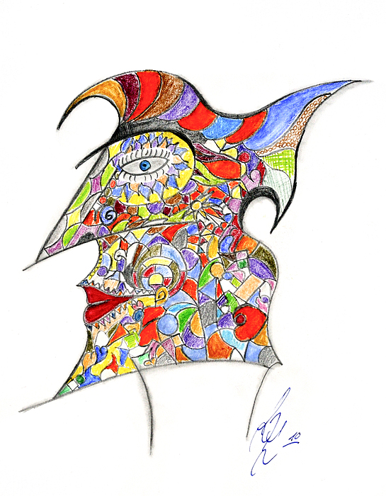 Colour In Mind Print by Peter Saltz