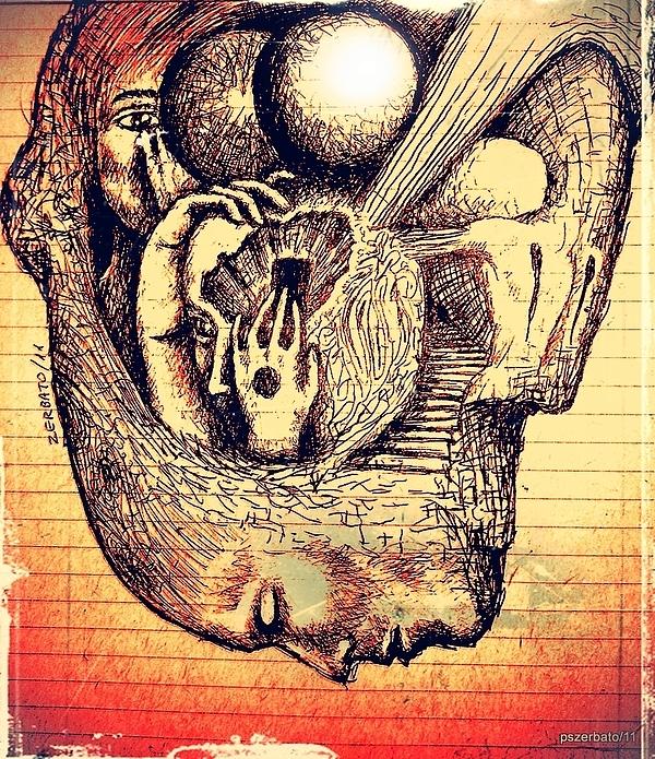 Complex Paths Print by Paulo Zerbato
