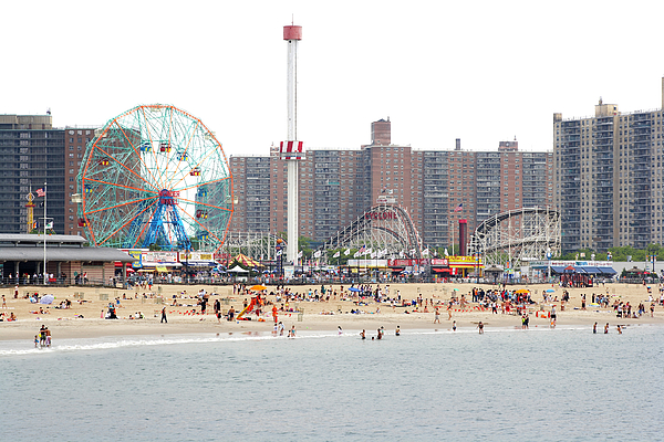 Coney Island, New York Print by Ryan McVay