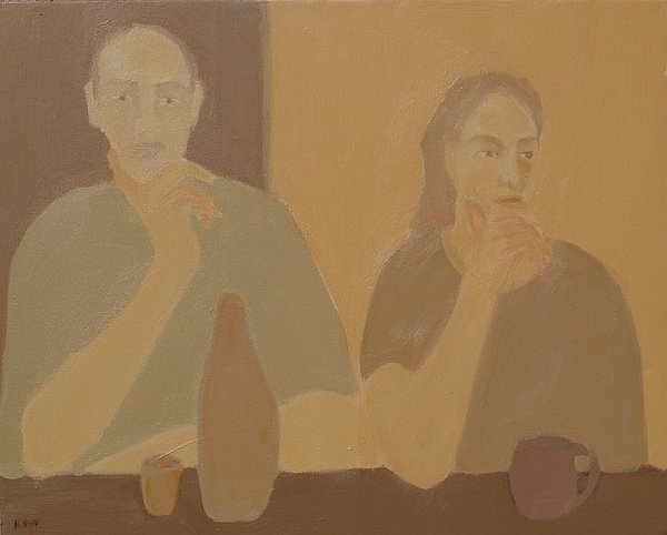 Contemplation Print by Renee Kahn