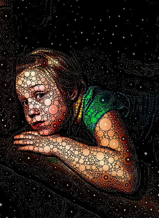 Cosmic Dust Print by Ron Bissett