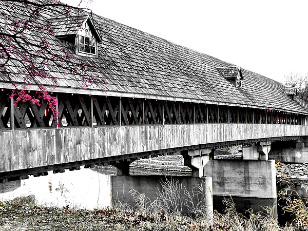 Covered Bridge 2 Print by Scott Hovind