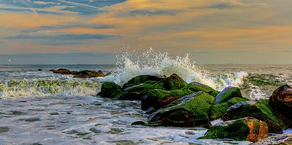 Crashing Waves Print by David Hahn